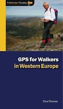 Pathfinder GPS for Walkers in Western Europe (Pathfinder Guides)-ExLibrary