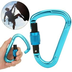 1PC 7075 Aviation Aluminum Outdoor Climbing Professional Mountaineering Pear❤FF
