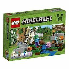 New ListingLego Minecraft The Iron Golem (21123)