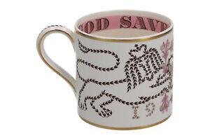 Wedgwood 1953 Coronation GOD SAVE THE QUEEN mug Richard Guyatt