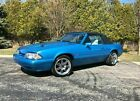 1992 Ford Mustang LX 1992 Ford Mustang Convertible Blue RWD Automatic LX
