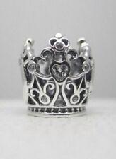 Genuino PANDORA encanto Corona De Princesas De Disney 791580CZ