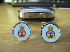 ROYAL AIR FORCE DEFENCE HELICOPTER FLYING SCHOOL CUFFLINKS