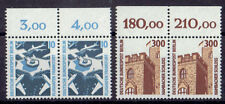 Berlin Bogenmarken Paare ** MiNr 798-799 Sehenswürdigkeiten