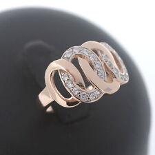 Designer Ring 585 Gold 14 Kt Roségold besondere Form Wert 495,-