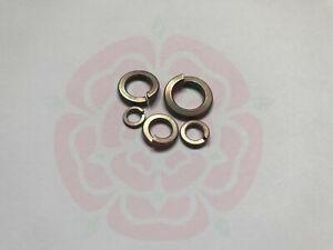 Titanium Spring Washer DIN127 - M5 M6 M8 M10 M12 GR2 GR5 Spring Lock Washer