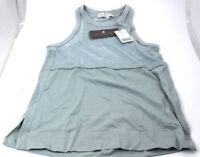 Adidas Stella McCartney Swim Mesh Tank Gr. 36 graublau *NEU* C50 3118 DL9