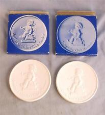 2 Goebel Collectors' Club Member Medallions 1976 &1980 In Origional Boxes