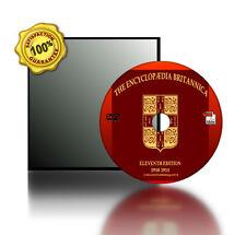 ENCYCLOPEDIA BRITANNICA 11th Edition Books On DVD ROM