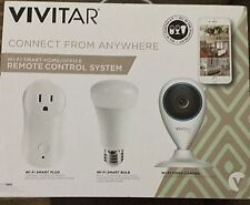 Vivitar Automation Starter Kit Ipc-560- Wi-Fi Smart Home/Office Remote Control S