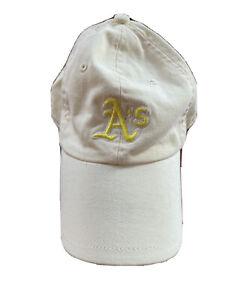 Nike Oakland A's MLB  Baseball Cap Hat Women's One Size Adjustable Yellow