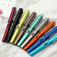 HOT Aluminum Alloy WING SUNG 6359 Fountain Pen Extra Fine Nib 0.38mm 7Colors 1PC