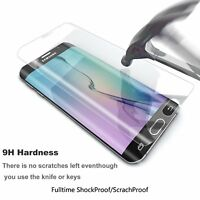 For Samsung Galaxy S6 Edge Plus Full Curved Tempered Glass LCD Screen Protection