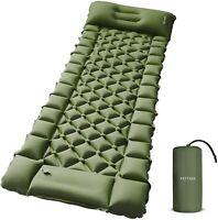 "Camping Air Sleeping Pad for Hiking Traveling Air Mattress ""77.55 x 26.7 x 2.75"""