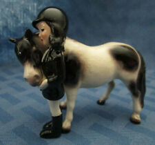 Hagen Renaker Specialty Horse, Big Sister with Pony, Pinto, #31701, Made in USA