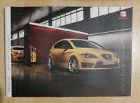 Seat Leon Brochure 2009 / 2010 - Cupra   FR  Sport  SE / SE Ecomotive  S Emoción