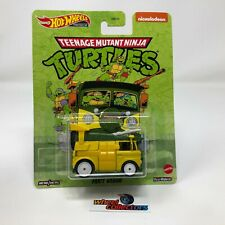 Party Wagon Ninja Turtles 2020 Hot Wheels Retro Entertainment Case T * IN STOCK