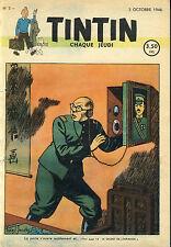 JOURNAL TINTIN N°2         du 3 Octobre 1946