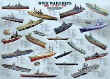 Eurographics WWII Warships 1000 Piece Jigsaw EG60000133