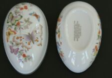 Vintage Avon 1974 Butterfly Porcelain Egg 22K Gold Trim Mother's Day gift