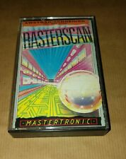 RASTERSCAN by Mastertronic PER AMSTRAD CPC COMPUTER VINTAGE RARE