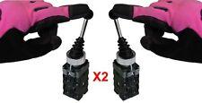 Two Position Joy Stick Wobble Switch Industrial Grade Replaces Telemecanique X2
