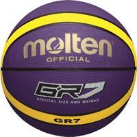 molten Basketball Trainingsball Indoor Outdoor Ball Lila Gr. 7
