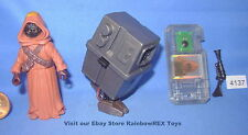 Star Wars 1999 JAWA and GONK DROID w/CommTech Chip 3.75 inch Figure COMPLETE
