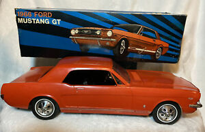 Vintage 1966 Ford Mustang GT Wen-Mac Toy Car AMC With Original Box (Pg. 153B)