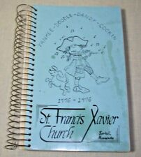 ST. FRANCIS XAVIER CATHOLIC CHURCH COOKBOOK 1976 MN SARTELL MINNESOTA