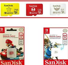 Incredible SanDisk 64GB 128GB 256GB Micro SD Memory Card For Nintendo Switch
