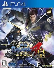 Used BASARA 4 CAPCOM SONY PS4 PLAYSTATION JAPANESE IMPORT JAPANZON