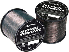 Daiwa NEW HYPER Sensor Fishing Line BULK 1/4lb Spool - GUN METAL - All Sizes