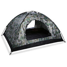 4 Person Foldable Waterproof Tent Camo Family Outdoor Camping Hiking Backpacking