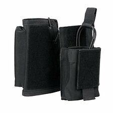 Rifle Stock Riser With Mag Pouch AR15 AK Butt Stock Magazine Pouch 223 7.62 BLK