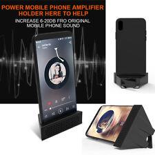 3D Enlarged Screen Mobile Phone Sound Amplifier Magnifier Stand Holder Bracket