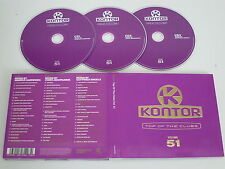 VARIOUS/KONTOR - TOP OF THE CLUBS VOLUME 51(KONTOR 1061407KON) 3XCD ALBUM
