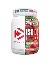 Dymatize ISO100 Clear Powder (500g) Hydrolyzed Whey Protein Isolate All Natural