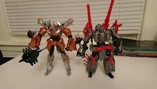 Transformers Movie AOE dinobots lot Grimlock Scorn Slug Slog Slash Snarl