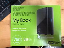 Western Digital My Book 750gb Brand New Sealed