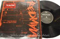 "REDMAN, I'll be that LP (VG) 12"""