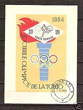 ROMANIA # 1672 USED SUMMER OLYMPICS TOKYO 1964