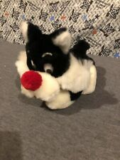 "1971 Warner Bros Mighty Star Sylvester The Cat 9"" Plush Toy (used) Free Ship #7"