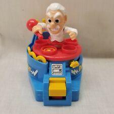 Vintage 1986 Milton Bradley T.H.I.N.G.S Dr. Wack-O wind up game Missing one disc