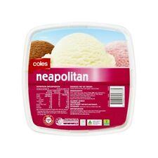 Coles Neapolitan Ice Cream Tub 4L