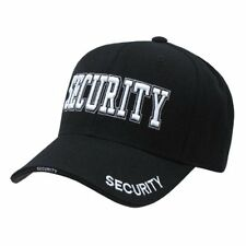 High Embroidered Law Enforcement Baseball Caps Hats - Adjustable - SECURITY -