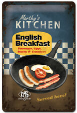 Nostalgie Blechschild - English Breakfast  Blechschilder