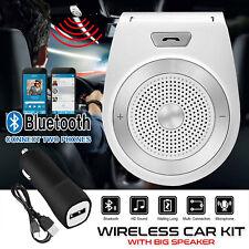 More details for very loud! bluetooth speaker hands free handsfree kit wireless car van lorry