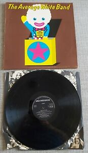 AVERAGE WHITE BAND-SHOW YOUR HAND-UK ISSUE LP ON MCA/DECCA RECORDS-1973-VGC