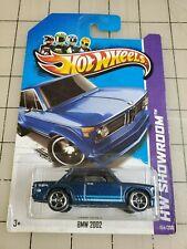 Hot Wheels 2013 BMW 2002 Blue HW Showroom 154/250